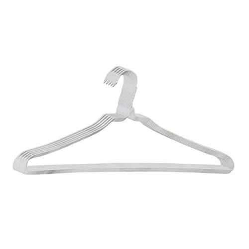 オリタニ 針金ハンガー 白 φ2.7 40cm幅 25本セット カラー:ホワイト 洗濯用 収納 省スペース スリム クローゼット 物干し シンプル まとめ買い