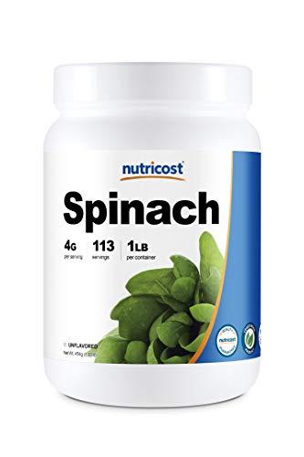 Nutricost Pure Spinach Powder 1LB