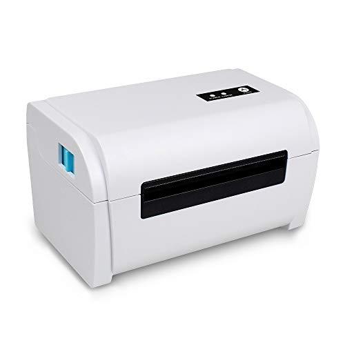 Shangya Impresora de Etiquetas,ZJ-9200,Impresora de Tickets de Bluetooth térmico USB portátil con Soporte,Impresora de Datos