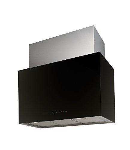 Nodor CUBE GLASS BLACK -  3 niveles de intensidad, iluminación LED regulable y mínimo nivel sonoro.
