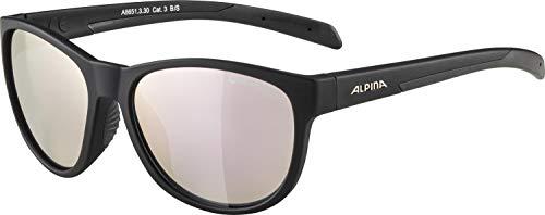 ALPINA Unisex - Erwachsene, NACAN II Sportbrille, black matt, One Size