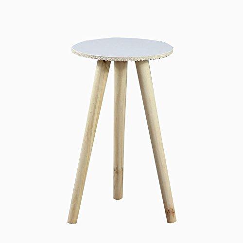 CSQ Plante en bois Stand, étagère Creative Apparence Moderne Style Salon Chambre Bureau Balcon Pot de fleur Stable Étagère à fleurs (Couleur : A, taille : 26 * 47CM)