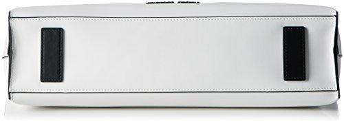 Armani Jeans 9221717p757, Borsa Donna, Bianco (Bianco 00010), 10x26x38 cm