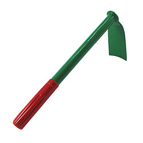 Yarnow - Rastrello da giardino per zappa a mano e zappa con manico antiscivolo, strumento da giardino per piantare, trapiantare, diserbare, muovere il terreno lisciante