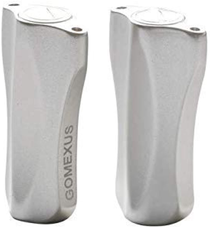Gomexus Reel Handle Knob for Shimano Calcutta Aldebaran Curado Casitas Bass one Daiwa Tatula Low Profile Baitcasting Reel Direct color Silver