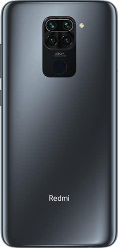"Xiaomi Redmi Note 9 Smartphone 3GB 64GB 48MP Quad Kamera Hotshot 6.53"" FHD+ DotDisplay 5020 mAh 3.5mm Headphone Jack Schwarz, 6941059652014_SML - 2"