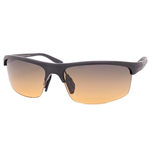 PeakVision CY6 Black Non-Polarized Golf Sunglasses for Men & Women - Dual-Zone Lens Technology, RA Filters, UV Protection Eyewear for Golfers with Long Hair, Driving, Sports