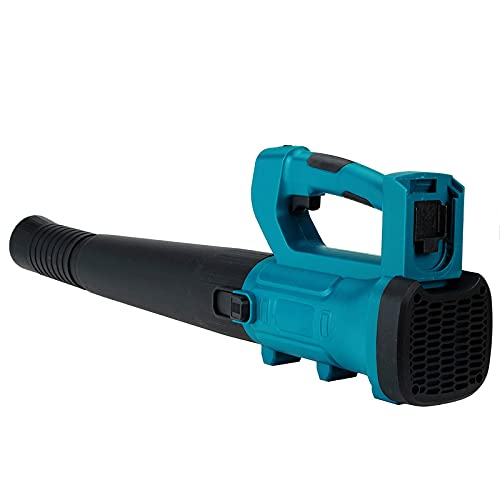 Cordless Li-ion Blower, Leaf Blower, Quick Charger, Max Airspeed 200 km/h, 2 * 18V 4.0Ah Li-ion Battery, Ergonomic design, non-slip handle, long time use does not hurt hands.