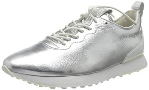 Högl Damen ARTY Sneaker, Mehrfarbig (Silber/Weiss 7602), 36 EU