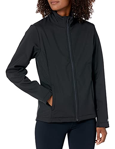 Starter Women's Standard Soft Shell Jacket, Black, Medium