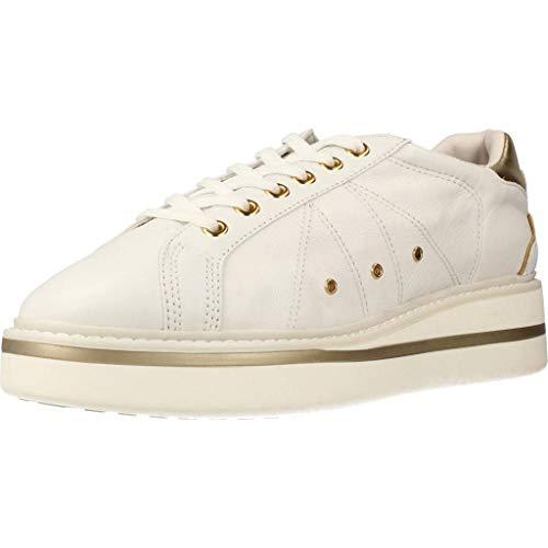 lumberjack Damen Skyler Sneaker, Bianco, 39 EU