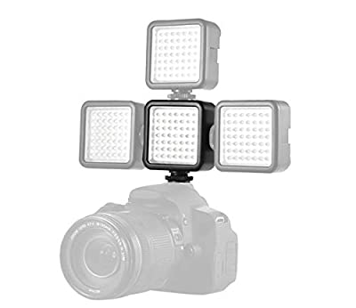 BEIYANG Upgrated LED Video Light,Video Lighting Dimmable Portable LED 49 Ultra Bright LED Camera Lighting,Compatible for Canon Nikon Pentax Panasonic Sony DSLR Cameras Cell Phone by BEIYANG