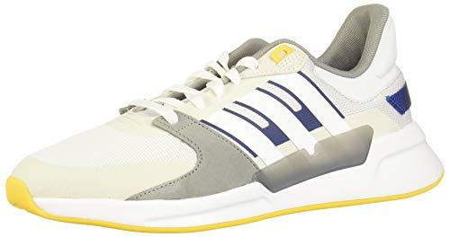 Adidas RUN90S, Zapatillas Running Hombre, Gris Orbit Grey FTWR White Dove Grey, 42 EU