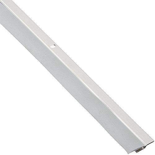 Pemko 085636 305CN84 astragal dividido, aluminio anodizado transparente con inserto gris