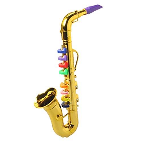 MAJOZ0 Saxophon Kinder Spielzeug,Kinder Musikinstrument Spielzeug Frühen,Pädagogisches Spielzeug