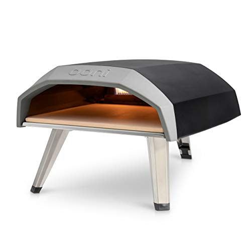 Ooni Koda Outdoor Pizza Oven, Pizza Maker, Portable Oven, Gas Oven, Award Winning Pizza Oven with Pizza Stone