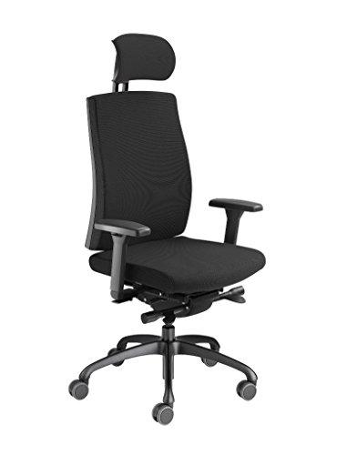 Löffler Figo K950 Ergonomischer Bürostuhl Drehstuhl 3D-Sitztechnologie ErgoTop