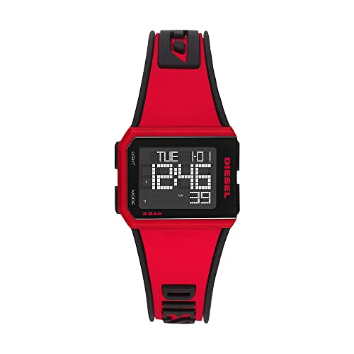 Diesel Reloj Analógico-Digital para Hombre Correa en Silicona DZ1923