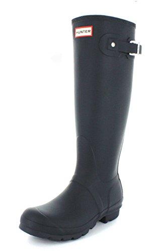 Hunter Original Tall Classic, Botas de Agua para Unisex Adulto, Azul (Original Tall Wft1000rma), 36 EU