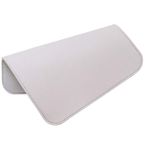 Oterri Square Mouse PadNon-Slip Mouse Mat with Premium Stitched Edge Waterproof Thickened PVC Leather Mouse Pad for Office WorkHomeDecor-787×984Gray1 Pack