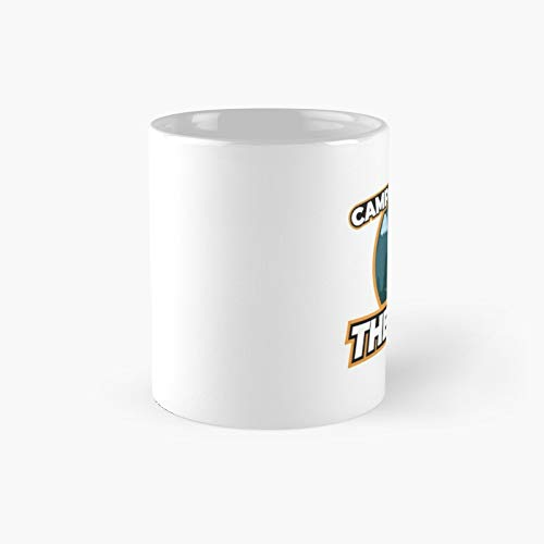 Camping Is My Therapy Classic Mug - Funny Gift Coffee Tea Cup White 11 Oz The Best Gift For Holidays.