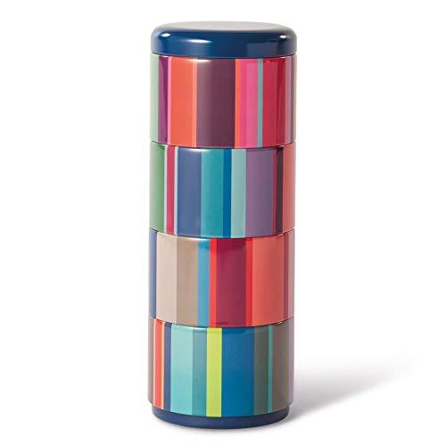 Remember 4er Teedosenset Stripes