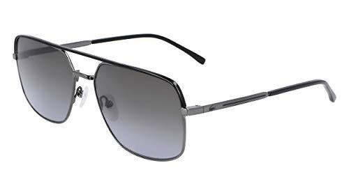 Lacoste L227S-047 Gafas, Steel, 59/17/145 para Hombre