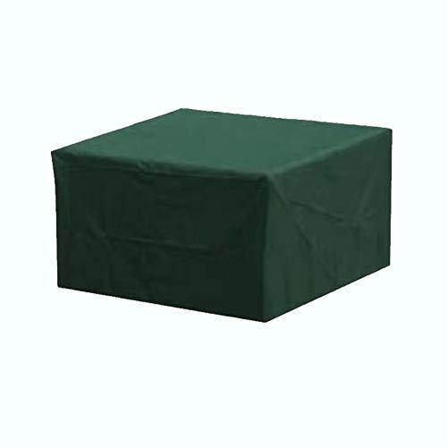 QETUOA Cubierta De Muebles Verde, Cubierta De Silla De Sofá Impermeable De Tela Oxford 210D, Patio De Jardín A Prueba De Lluvia, Mesa Y Silla A Prueba De Polvo (205 * 104 * 71cm)