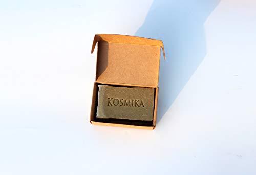 KOSMIKA Savon saponifié à Froid Douceur au calendula fabriqué en France en Drôme Provençale 100 g Nature et Progrès