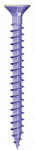 Vis pour aggloméré Q200 Plus Torx filetage 3,0 x 12 à 6 x 40 mm Vis à bois, couleur : bleu galvanisé – Dimensions : 5.0 x 35 mm (500stück)