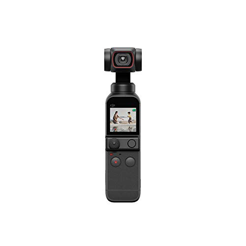 DJI Pocket 2 Fotocamera Stabilizzata 3 Assi, Vlog, Video Ultra...