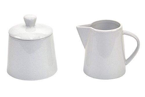Van Well - Servizio da caffè, 2 pezzi, lattiera e zuccheriera Atrium, da 23 cl