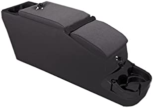 Rugged Ridge 13103.15 Ultimate II Black Denim Locking Console
