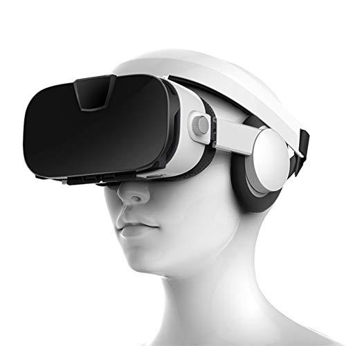 Stereo Video 3D Brille VR Headset Virtuelle Realität Smartphone Google Karton Helm Vr Für 4 Zoll Bis 6,4