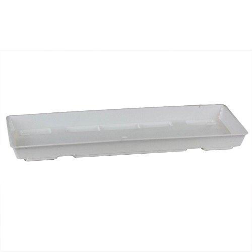 Ebert Blumenkasten Untersetzer, weiß, 80 x 15 x 3 cm, 1002753