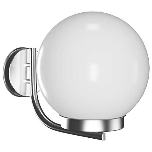 vidaXL Applique Lampe d'extérieur Jardin Desin Moderne Blanc 40392