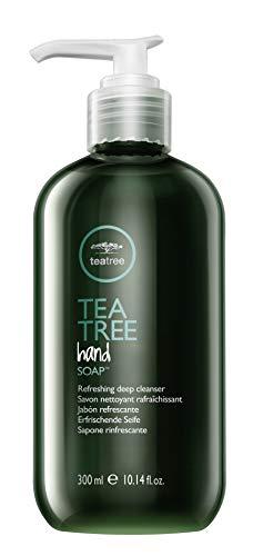 Paul Mitchell Tea Tree Hand Soap - Flüssig-Seife für gründliche Reinigung der Hände, Hand-Seife wirkt antibakteriell und desinfizierend, 300 ml