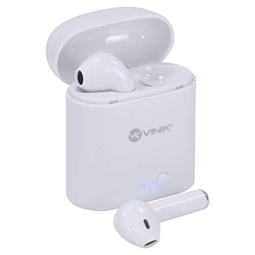 Fone de ouvido bluetooth EASY W1 TWS - Branco - Vinik