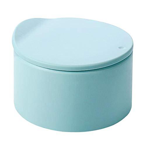 FIJTPSAN Bote de Basura de Escritorio de Basura con Tapa pequeña para la Basura de encimeras de Cocina en casa (Color : C)