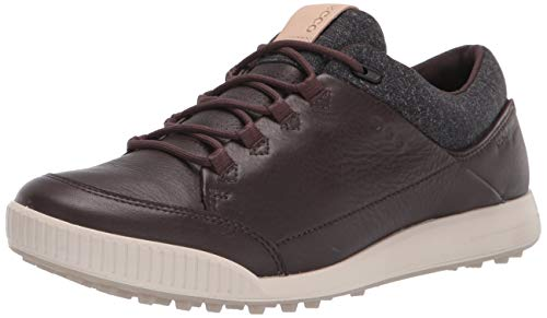 Ecco Street Retro, Zapatos de Golf para Hombre, Mocha, 44 EU