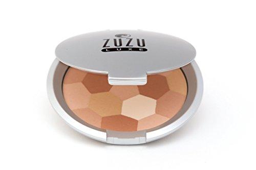 Zuzu Luxe Mosaic Illuminators (Medium),0.32 oz, Multi-pigmented Mosaic Illuminator covers imperfections, flawless, glowing skin. Natural, Paraben Free,Vegan, Gluten-Free, Cruelty-Free, Non GMO.