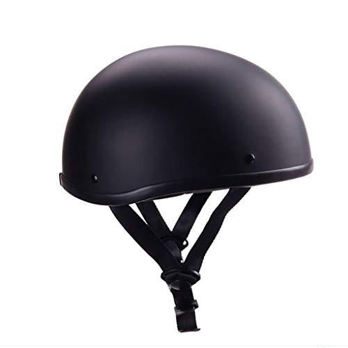 GAOZH Retro Style Offen·Brain-Cap Halbschalenhelm klassischer Motorrad Halber Helm Moped Erwachsene für Damen Und Herren Oldtimer Vintage Harley-Jethelm Elektroauto-Roller Kollisions Helm