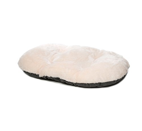 Gor Pets Nordic Oval Cushion for Dog Bed, 24-Inch, Grey