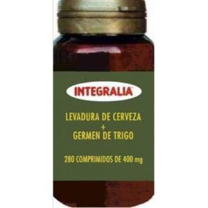 Integralia 001980145 Levadura de Cerveza y Germen de Trigo, 450 Comprimidos de 450 mg