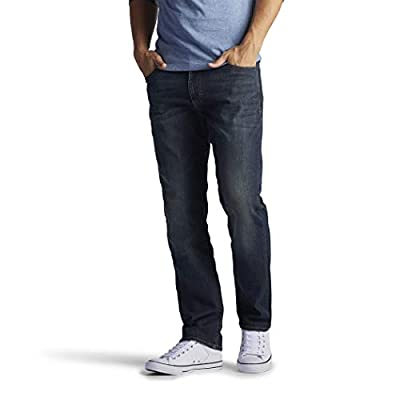 Lee Men's Performance Series Extreme Motion Straight Fit Tapered Leg Jean, Maverick, 36W x 30L