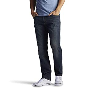 Lee Men's Modern Series Extreme Motion Straight Fit Tapered Leg Jean – 40W x 32LMaverick