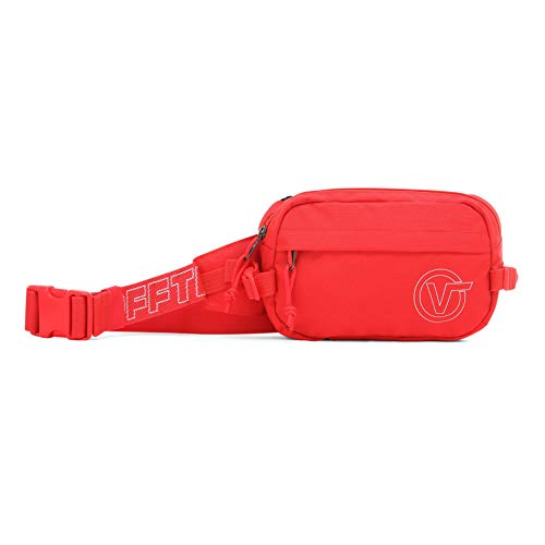 Vans Otoño-Invierno 19 Billetera, 6,5 x 14 x 25,5 cm (Ancho x Alto x Largo)., Rojo (Hibiscus) (Rojo) - VN0A3I6C
