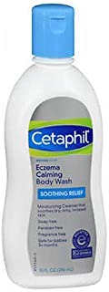 Cetaphil Restoraderm Eczema Calming Body Wash, Soothing Relief 10-Ounce (Pack of 2)