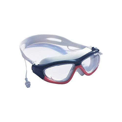 SADSA Gafas de natación Gafas de natación Profesionales con tapón auditivo Gafas de Buceo antivaho Hombres Mujeres Protección UV Gafas de natación Gafas de Buceo