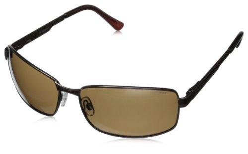 Polaroid Herren P4416 Pk 09Q 63 Sonnenbrille, Braun (Brown/Brown)